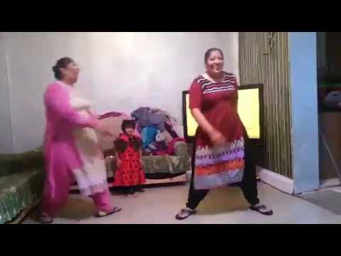 aunty funny and y dance new video