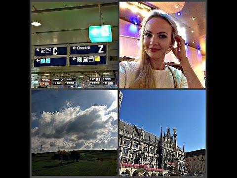 VLOG1: МЮНХЕН/MUNICH/MUNCHEN: как доехать из аэропорта, где остановиться