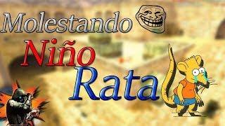 MOLESTANDO A NIÑO RATA counter strike 1.6