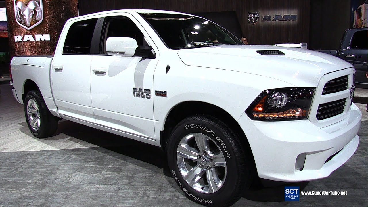 2016 Ram 1500 Sport 5 7l Hemi Exterior And Interior Walkaround Detroit Auto Show