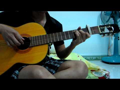 ♪♫ tình thôi xót xa-guitar ♪♫