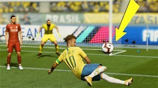 FIFA 19 TOP 10 BEST GOALS! Ft. SCORPION KICK,BACK HEEL, IMPOSSIBLE FREE KICK!