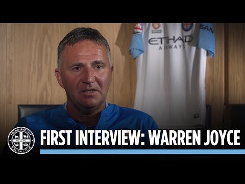 EXCLUSIVE: Warren Joyce's first City interview