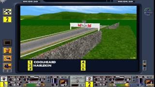 F1 Manager Professional gameplay (PC Game, 1997)