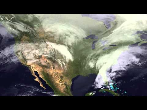 Winter Storm Battering Northeast U.S.: Latest Space-Based Imagery | Video