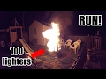 100 LIGHTERS EXPLOSION PRANK!
