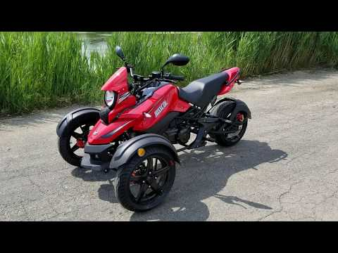 200cc Tryker Trike Scooter Motorcycle For Sale From SaferWholesale.com