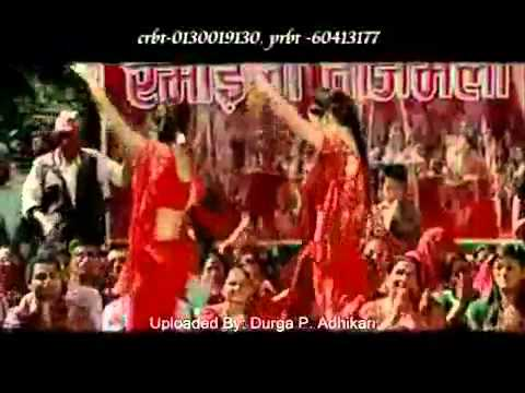 Nepali New Teej Song-larakai larkyo rato sari(part1)posted by Dipak Basnet Norway.flv