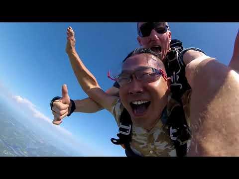 Sky diving at SkyDive GrandHaven