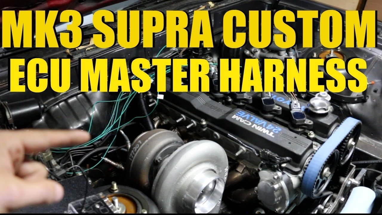Mk3 Supra Custom Ecu Master Engine Harness  Relay Board