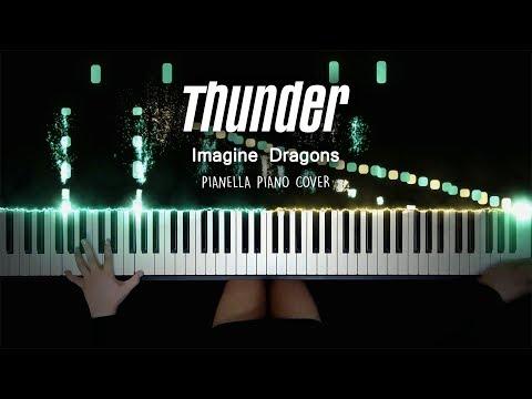 Imagine Dragons - Thunder | Piano Cover by Pianella Piano