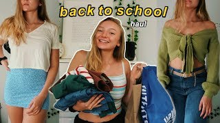 back to school haul of clothes i'm too scared to wear... lol