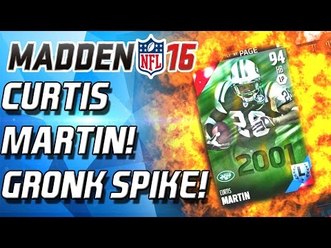 CURTIS MARTIN AND GROKOWSKI! FIRE OFFENSE! - Madden 16 Draft Champions!