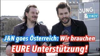 Jung & Naiv in Österreich: Helft uns finanziell & werdet Produzenten!