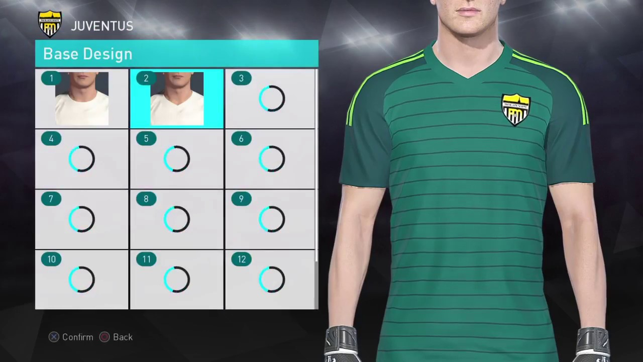quality design 6f09f 2757c PES 2018 2019 Kit Editing XBOXONE/360 - Juventus GK Kit