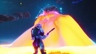 Fortnite Battle Royale - SEASON X END EVENT!!!!!!!! (Watched from the Meteor )