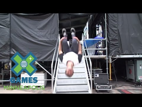 Craig McMorris: The McMorris Minute - Music load-in | X Games Minneapolis 2017