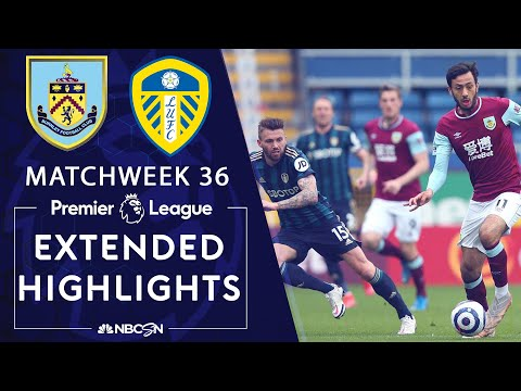 Burnley v. Leeds United | PREMIER LEAGUE HIGHLIGHTS | 5/15/2021 | NBC Sports