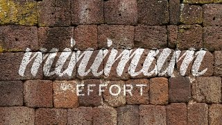 How To Texture Hand Lettering In Photoshop CC