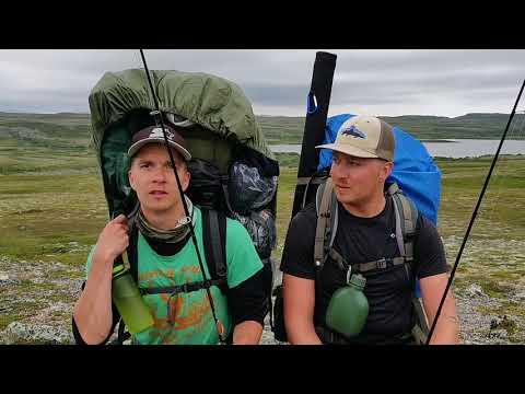 Käyrän eräilijät kalassa - Finnmark Norja 2018