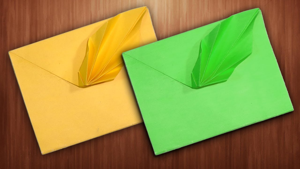 How To Make a Fancy Envelope - DIY Paper Envelope - YouTube - photo#1