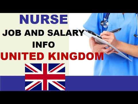 Nurse Salary In The UK - Jobs And Wages In The United Kingdom