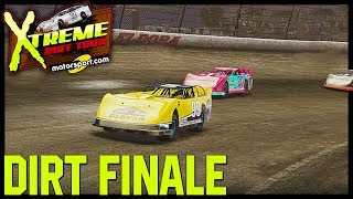 RIGHT REAR GOING DOWN, CAN WE HOLD ON FOR THE CHAMPIONSHIP? | NASCAR Heat 3 Career Mode| Dirt Finale