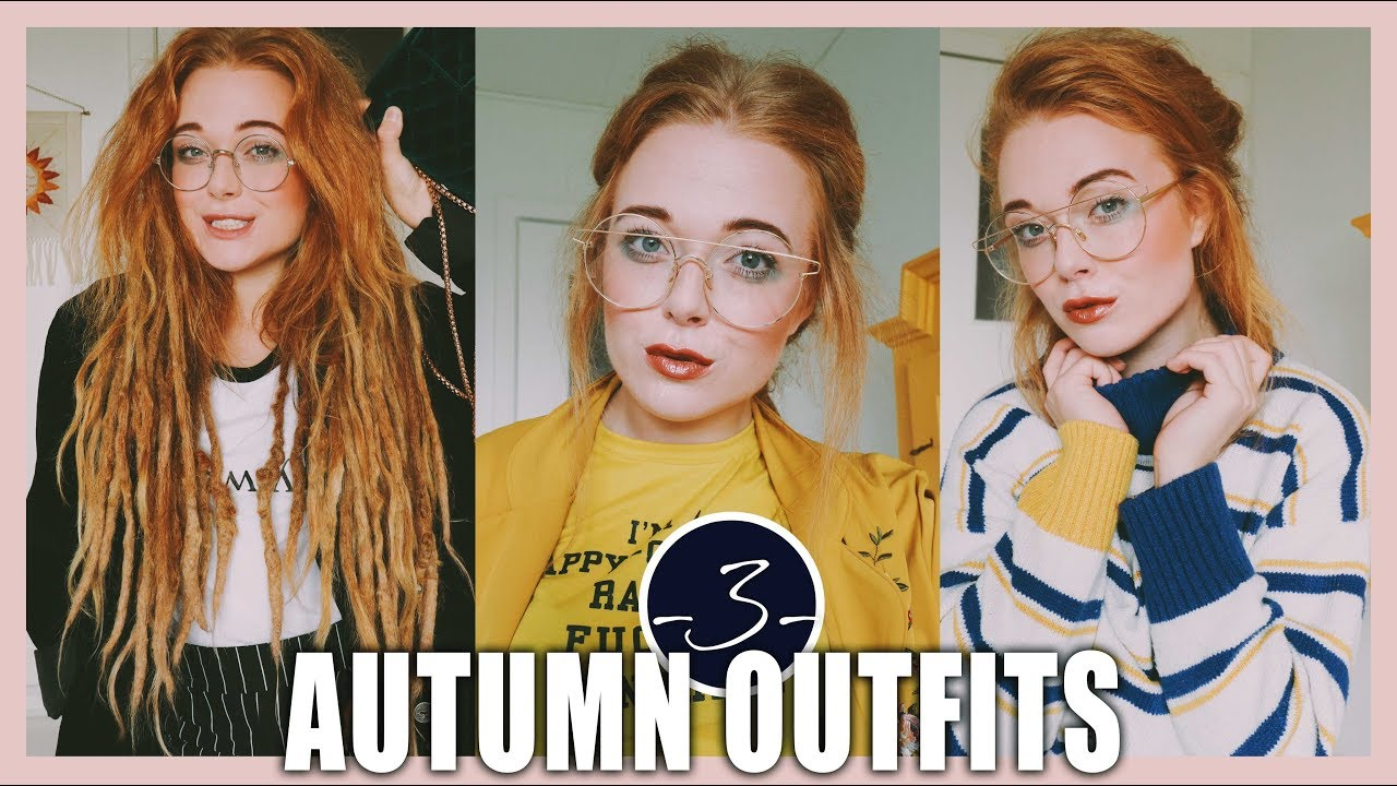 [VIDEO] – 3 cute autumn outfits