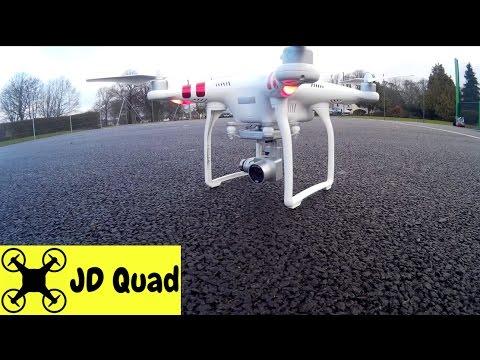 DJI Phantom 3 Standard Quadcopter Drone Flight Test Video Review