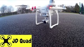 DJI Phantom 3 Standard Quadcopter Drone Flight Test Video Review