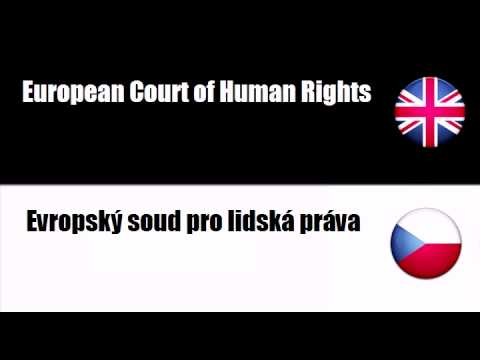 LEARN CZECH WORDS - Court of Justice of the European Communities