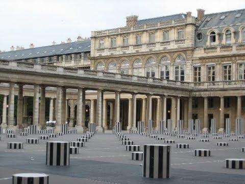 The Royal Palace - Palais-Royal Paris Frrance