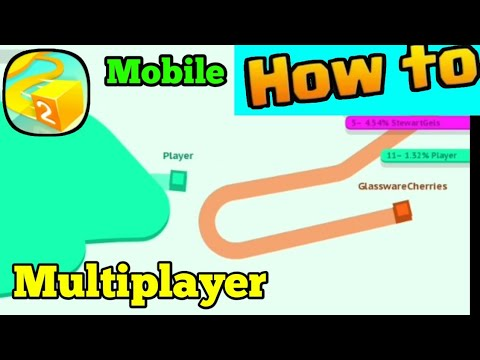 How To Play Paper.io 2 MULTIPLAYER Verson on Mobile!!!