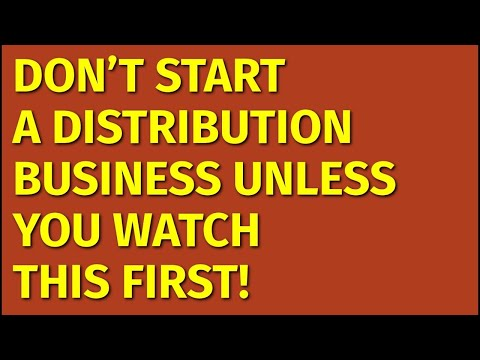 How to Start a Distribution Business | Including Free Distribution Business Plan Template