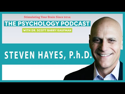 Liberate Your Mind With Steven Hayes [VIDEO] || The Psychology Podcast