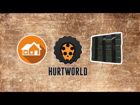Hurtworld Türkçe - C4'ü Test Ettim, Çatı ve Merdiven Yapımı