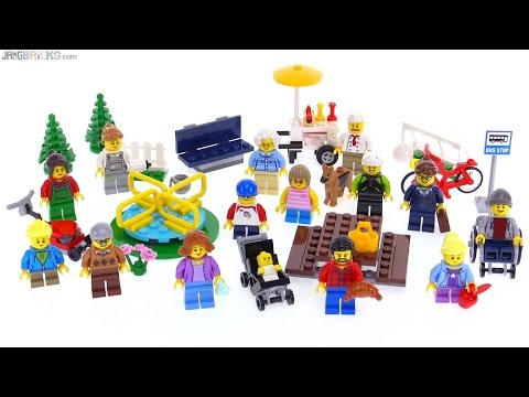 LEGO City Fun in the Park People Pack review! 60134 - YouTube