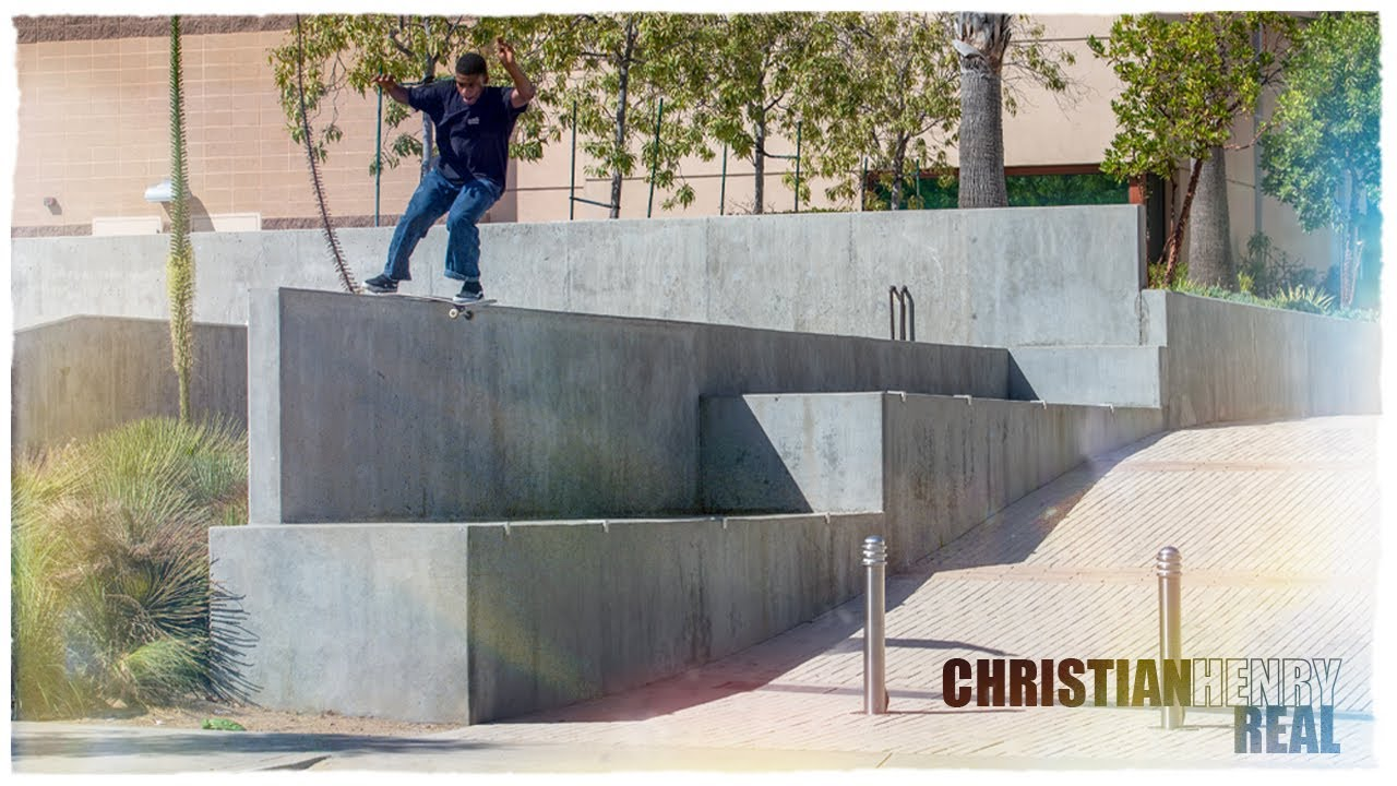 Real Skateboards Presents Christian Henry