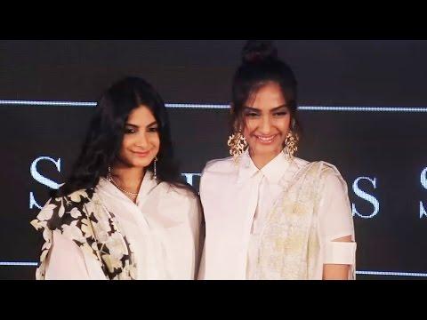Sonam Kapoor & Sister Rhea Kapoor At Rheson Brand Launch
