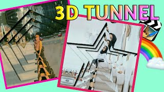 Download TUTORIAL TRANSISI 3D TUNNEL DI CUTE CUT || oriya fawzay Mp3