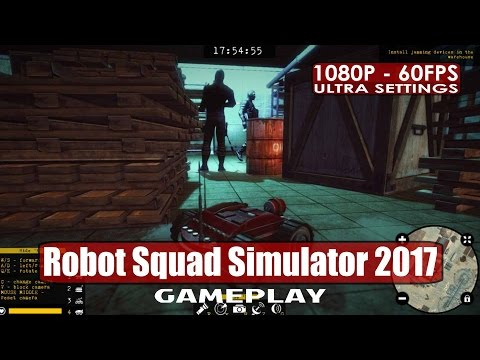 Robot Squad Simulator 2017 gameplay PC HD [1080p/60fps] |