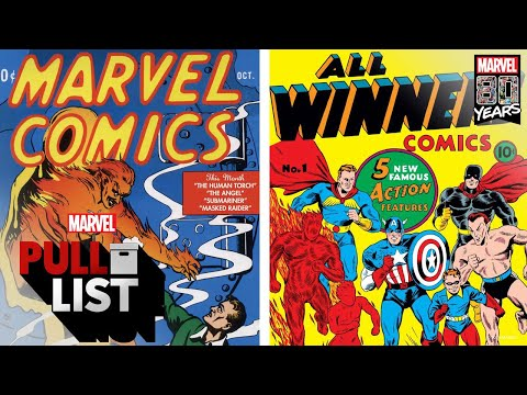 The Beginning with MARVEL COMICS #1 and More! | Marvel's Pull List