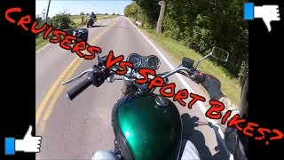 Sport Bikes Vs. Cruisers | My Thoughts