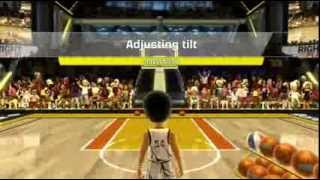 Kinect Sports Season 2 Basketball Challenge Pack 3 Point Hero Xbox 360 Kinect 720P gameplay