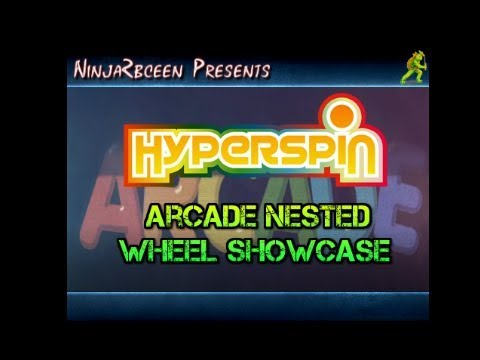 Hyperspin- Arcade Nested Wheel Showcase - Front-End Demos - EmuMovies