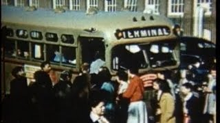 1952 Vintage Film: Life in New Bedford, MA over 60 years ago!