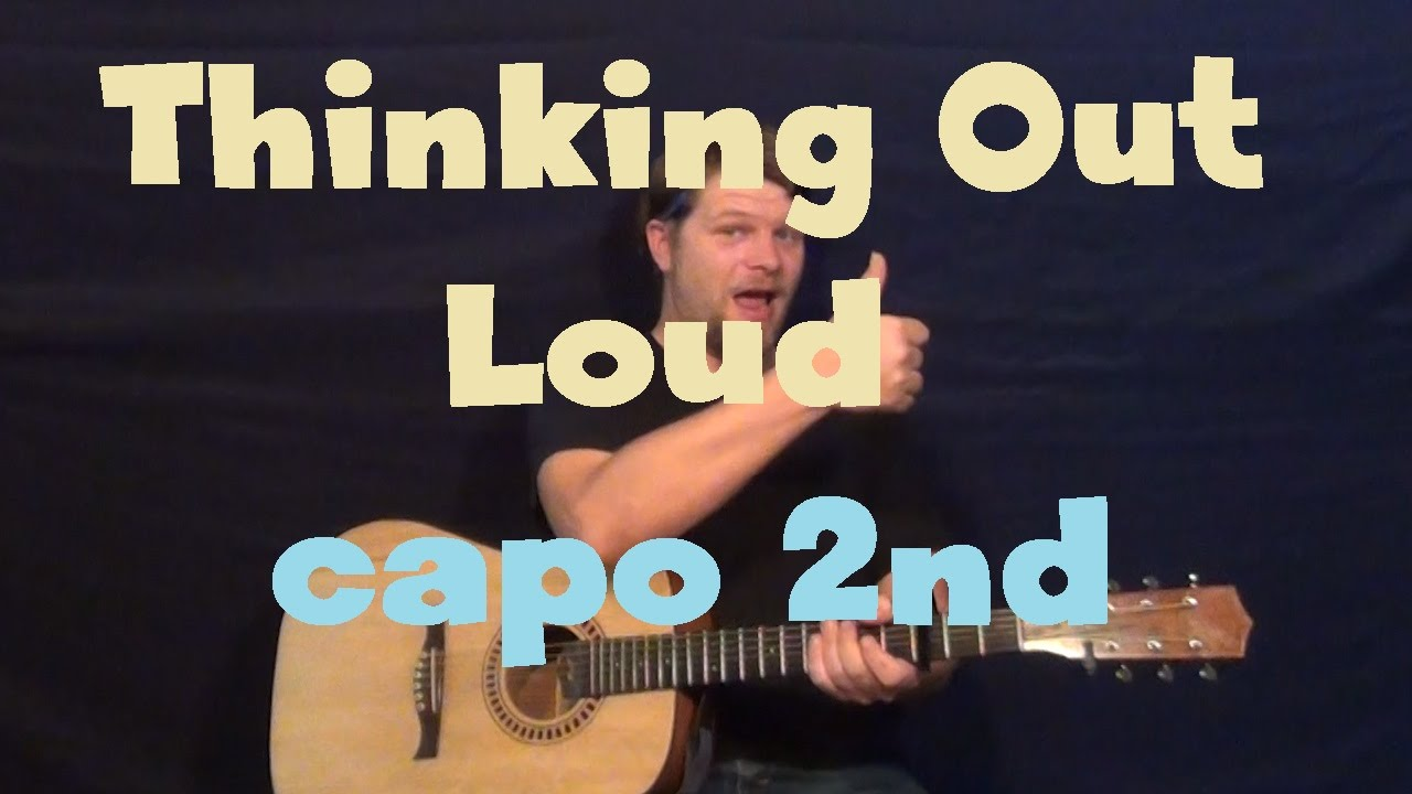 Thinking Out Loud (Ed Sheeran) Easy Guitar Lesson How to Play Tutorial ...