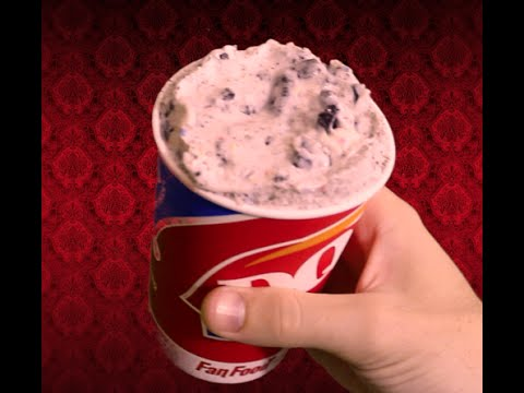 Dairy Queen Birthday Cake Oreo Blizzard