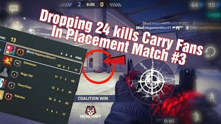 Aimbot hack with no Mod Menu⁉️|Met Fans in Placement Match #3 - Critical Ops Pro gameplay 1.17.0