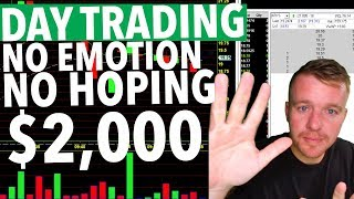 DAY TRADING REAL TIME! EMOTIONS! BREAKING RULES!